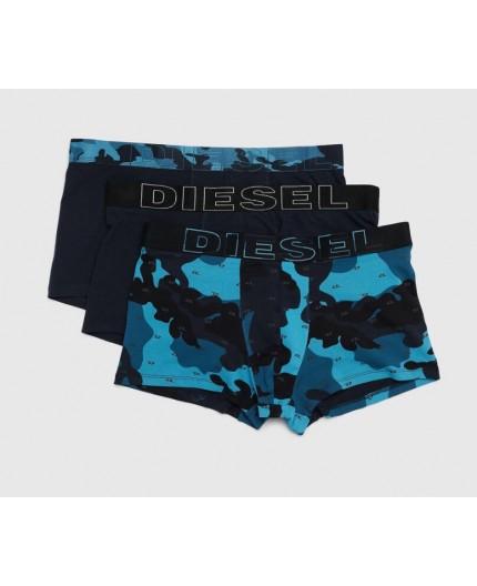 Pack 3 Bóxer Camuflaje Diesel|Azul